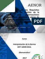 Requisitos IATF 16949-2016