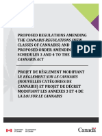 Draft Regulations for Edible Cannabis Products