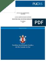 Relatório de Estágio (Licenciatura em História)