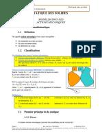 04.1 - Modélisation Des Actions Mécaniques