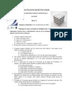 Guía 1 Nivel VI Combinatoria. FDTC 2012