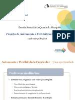 Ppt ESQM - PAFC - Apresent Equipa Regional
