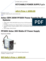 Antec Antec 300w Switchable Power Supply p n Pp300v