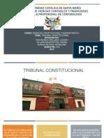 tribunal constitucional diapositivas