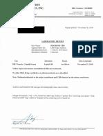 Diamond CBD lab reports
