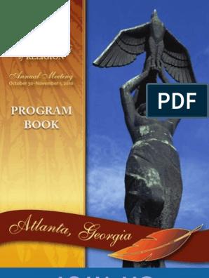 2010 AAR Annual Meeting Program Book Visa Inc