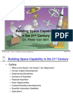 Building Space Capability in the 21st Century
