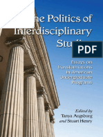 [Tanya Augsburg] the Politics of Interdisciplinary