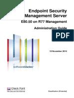 CP E80.50 EndpointSecurity AdminGuide