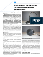 The Use of Multiple Sensors for the On-Line Partial Discharge Measurement of High Voltage Electrical Equipment