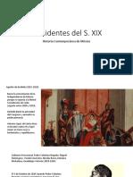 Presidentes Del Siglo XIX