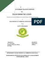 Training Report 1 (1)