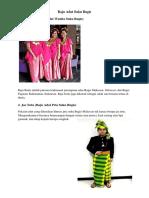 Baju Adat Suku Bugis