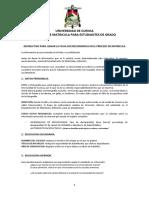 Instructivo Para Llenar La Ficha Socioeconomica 2018 (1)