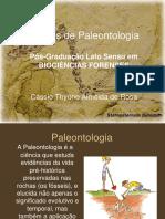 Noçoes de Paleontologia IFAR 2016