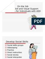 Social Skill Visual Support Strategies