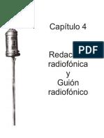 Redacción radiofonica II
