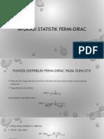 Aplikasi statistik fermi-dirac.pptx