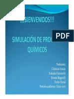 Simulacion para Ing Quimica