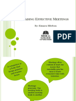 Leading Effective Meeting