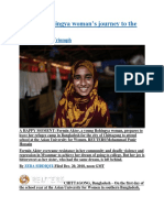 A young Rohingya woman's journey to the impossible.docx