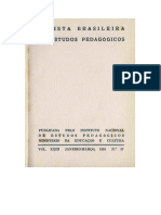 Revista Brasileira de Estudos Pedagógicos, Vol. XXIII 1955 No.57