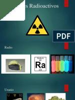 Metales Radioactivos