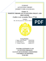 FIX Group 5 Summary Accounting Theory 10th Meeting Chapter 11 Positive Theory of Accounting Policy and Disclosure