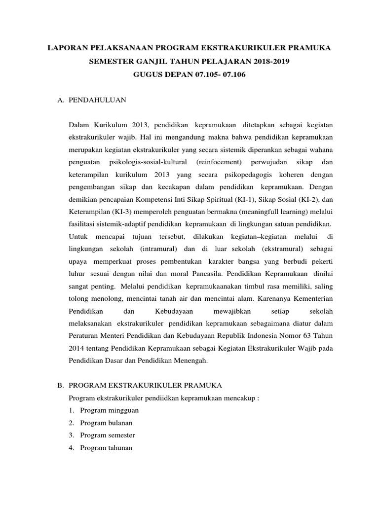 Contoh Laporan Kegiatan Bahasa Sunda Dan Kerangka Strukturnya Penulis Cilik Bahasa Sekolah Kerangka