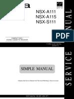 NSX-A111-A115-S111