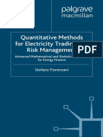 (Finance and Capital Markets) Stefano Fiorenzani-Quantitative Methods for Electricity Trading and Risk Management_ Advanced Mathematical and Statistical Methods for Energy Finance (Finance and Capital