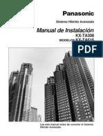 Manual Instal KX-Ta616
