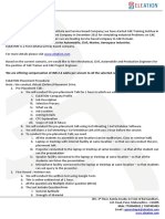 ELEATION Placement Procedure