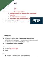 003 Site Analysis