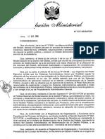 RM N°227-2018-PCM_Directiva Gestión por Procesos
