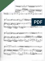 BACH - Sonata for Flute & Continuo BWV. 1031 Eb (Final) & BWV. 1020 (Gm) - Continuo Score