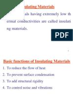 RAC_insulation and Refrigerants