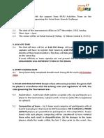 Young Batu Interbranch Futsal 2018 Rules and Regulation