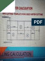 Miter Bend Calculation