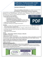 CQP Responsable Infrastructure & Réseaux H_F