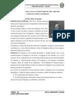 Desarrollo de La Evaluación Parcial Del Área de Comunicación y Sociedad