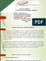 Estructura de La Logica Jutidica - Diapositiva
