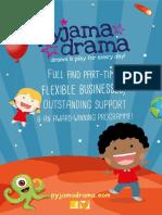 Pyjama Drama Prospectus 2017