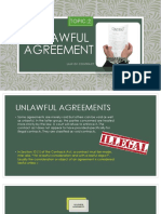 Unlawful Agreement