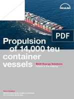 Propulsion 14000 Teu Container Vessels