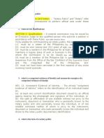 Affidavit-Two Disinterested Persons