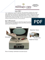 Autologous PRP Eye Drop for Dry Eye