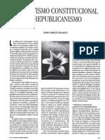 Patriotismo Costitucional y Republicanismo