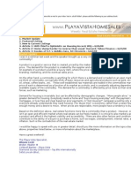 2008 June 27 - Playa Vista Home Sales Newsletter