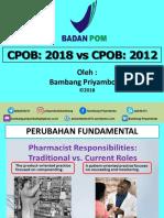 Bambang Priyambodo Cpob 2018 vs Cpob 2012